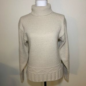 J.W. Anderson alpaca blend turtle neck sweater